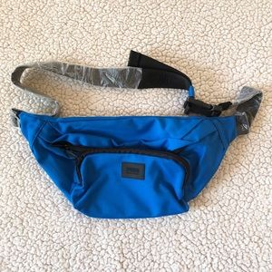 Victoria secret pink royal blue fanny pack NWT